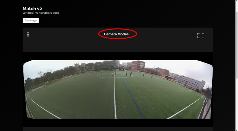 caméra modes analyse match football filmer